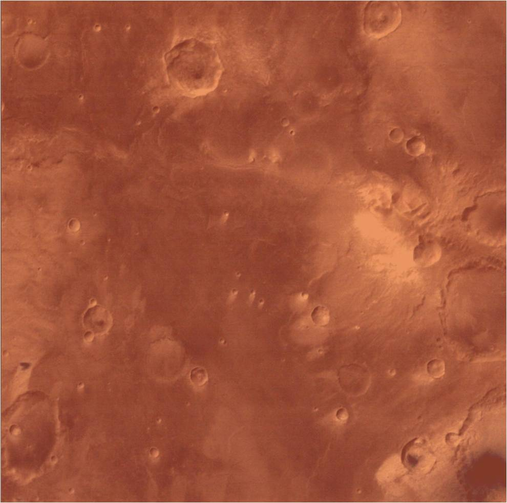 First image taken by MCC after MOM comes out of blackout - Sinus Sabaeus quadrangle of Mars
