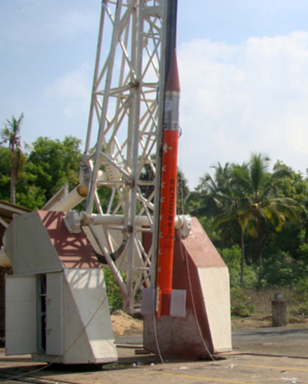 Typical RH300 Mk-II Sounding Rocket