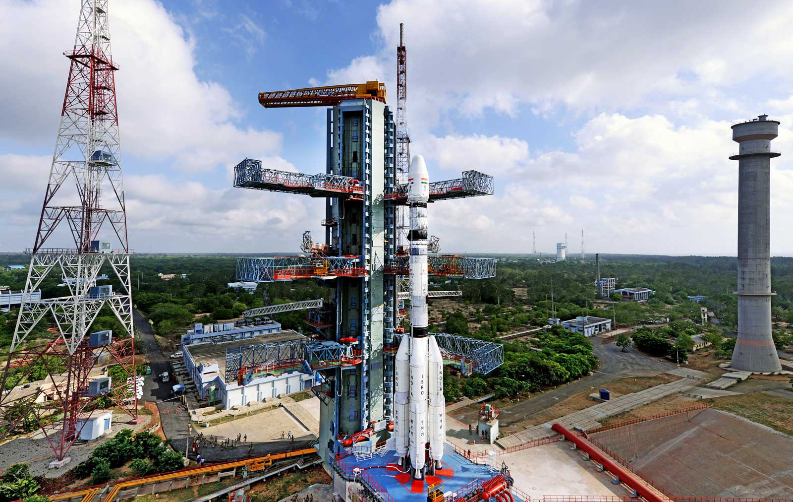 GSLV-D6 ready for launch