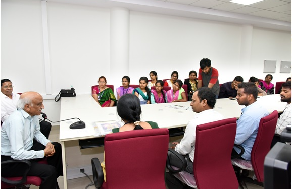 Interaction with Students, Academia and NRSC Staff