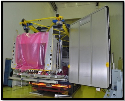 GSAT-11 EV Payload Module being loaded to ETS