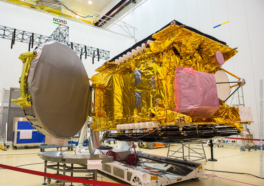 GSAT-15 Spacecraft
