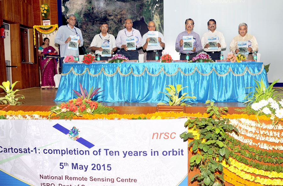 Release of Cartosat-1: 10 Years Completion Compendium