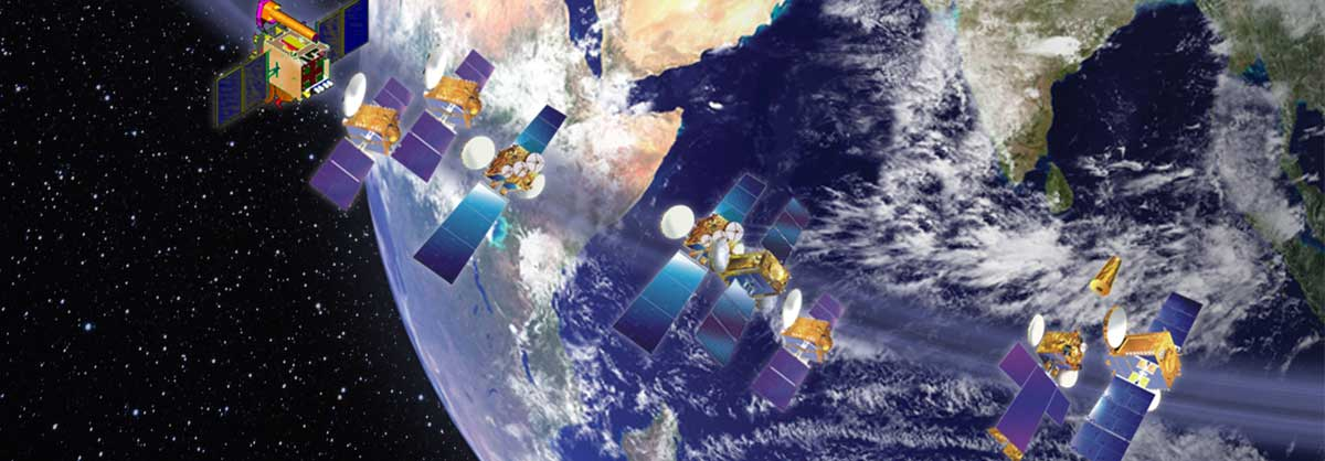 Series of Communication Satellite