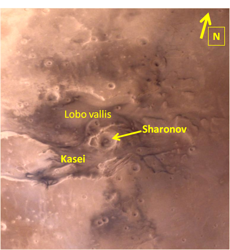 Sharonov crater