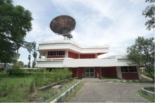 Typical view of the Satellite Control Earth Station