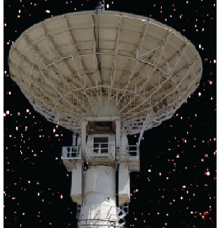 Deep Space Network Stations DSN-32 and DSN-18 at Byalalu near Bengaluru