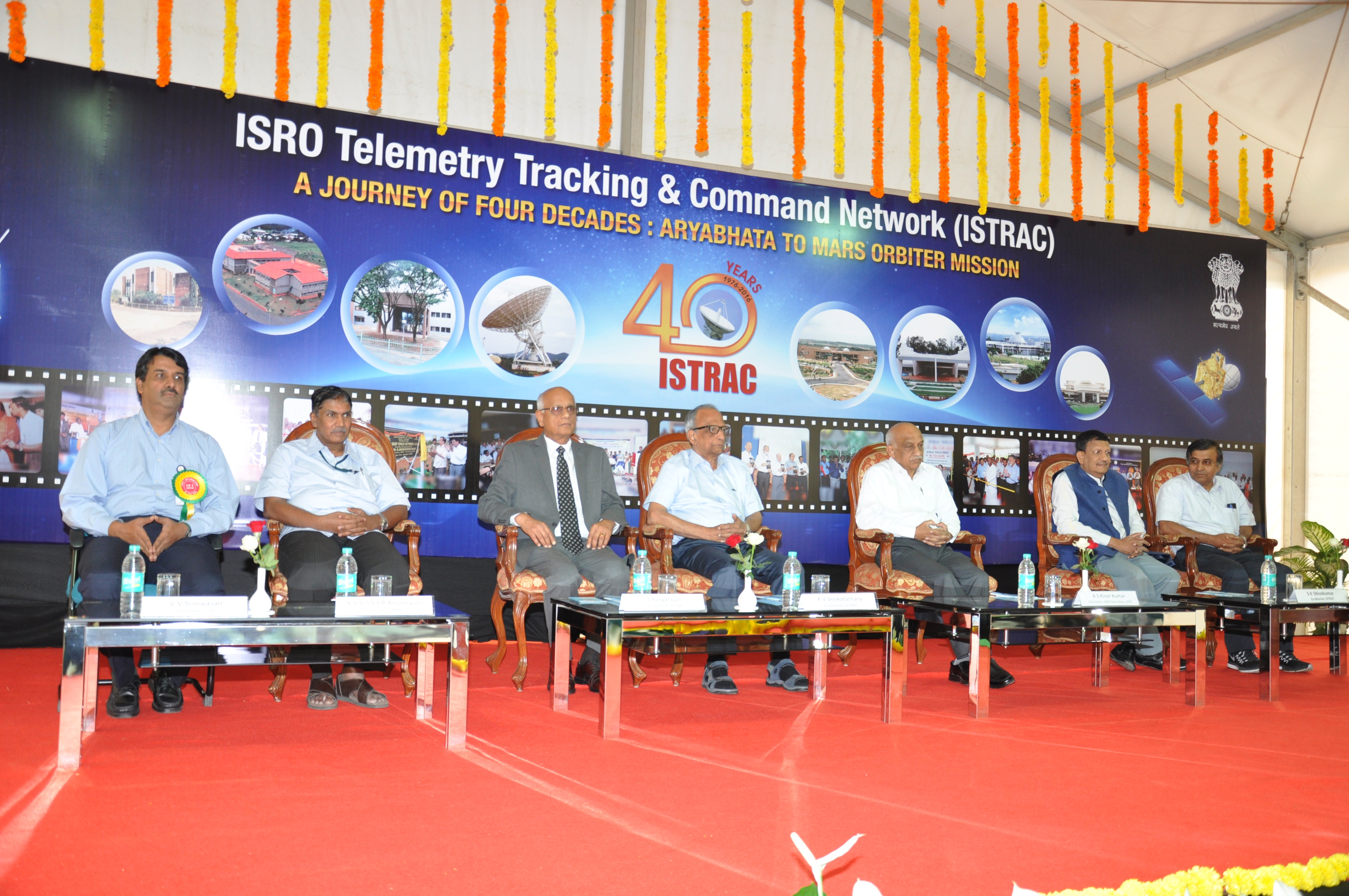 Isro Telemetry Tracking And Command Network Istrac
