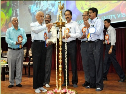 Chairman, ISRO Inaugurating the Golden Jubilee Event