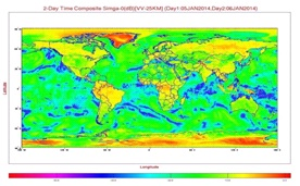 OSCAT Two-Day Time Composite Global Sigma-Naught Product