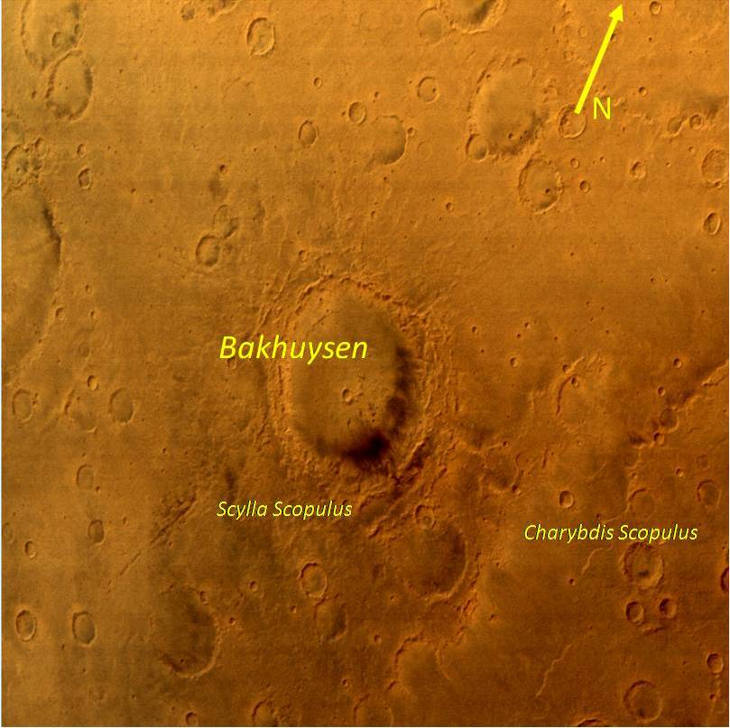 Bakhuysen Crater