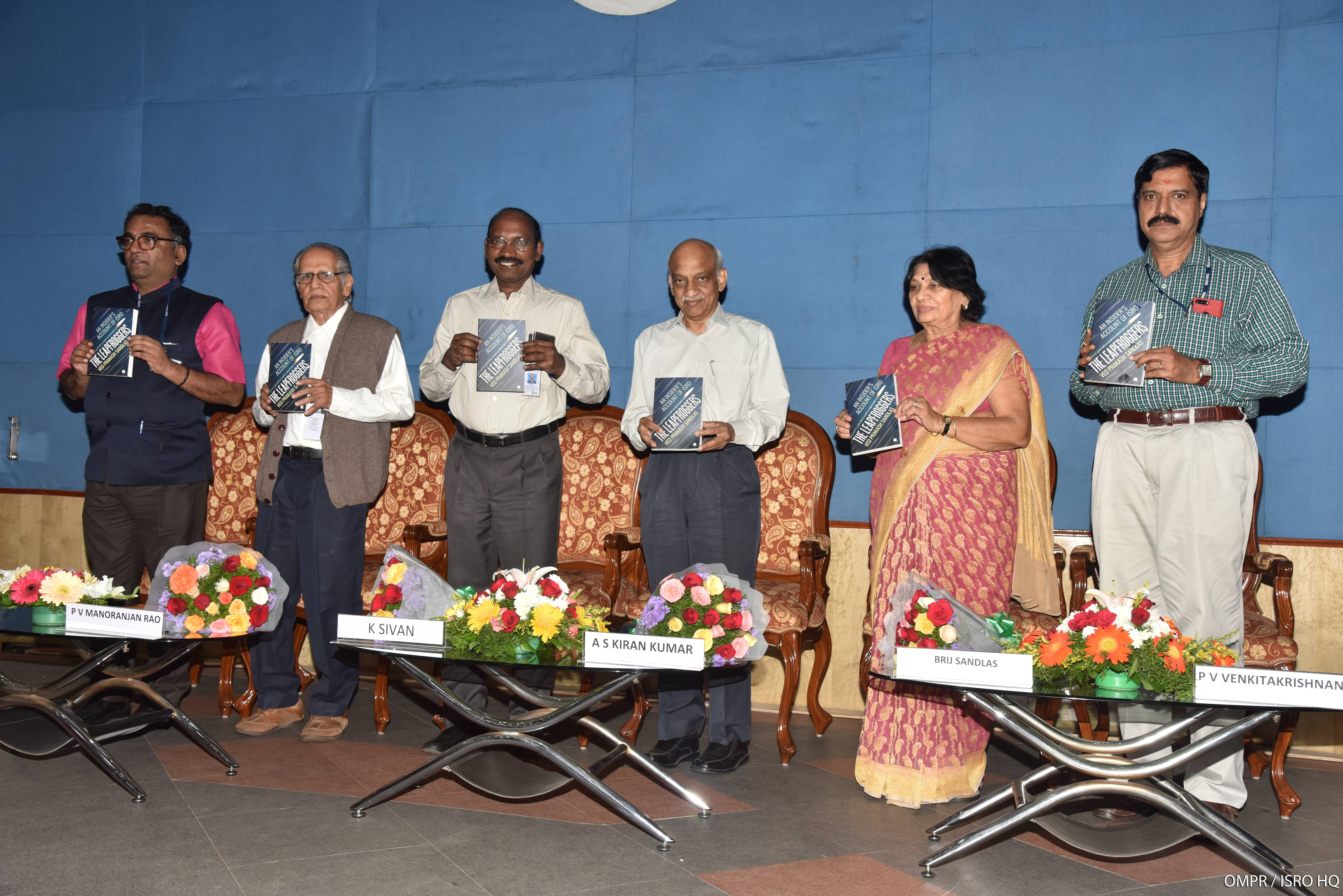 Release of three publications on Indian Space Programme