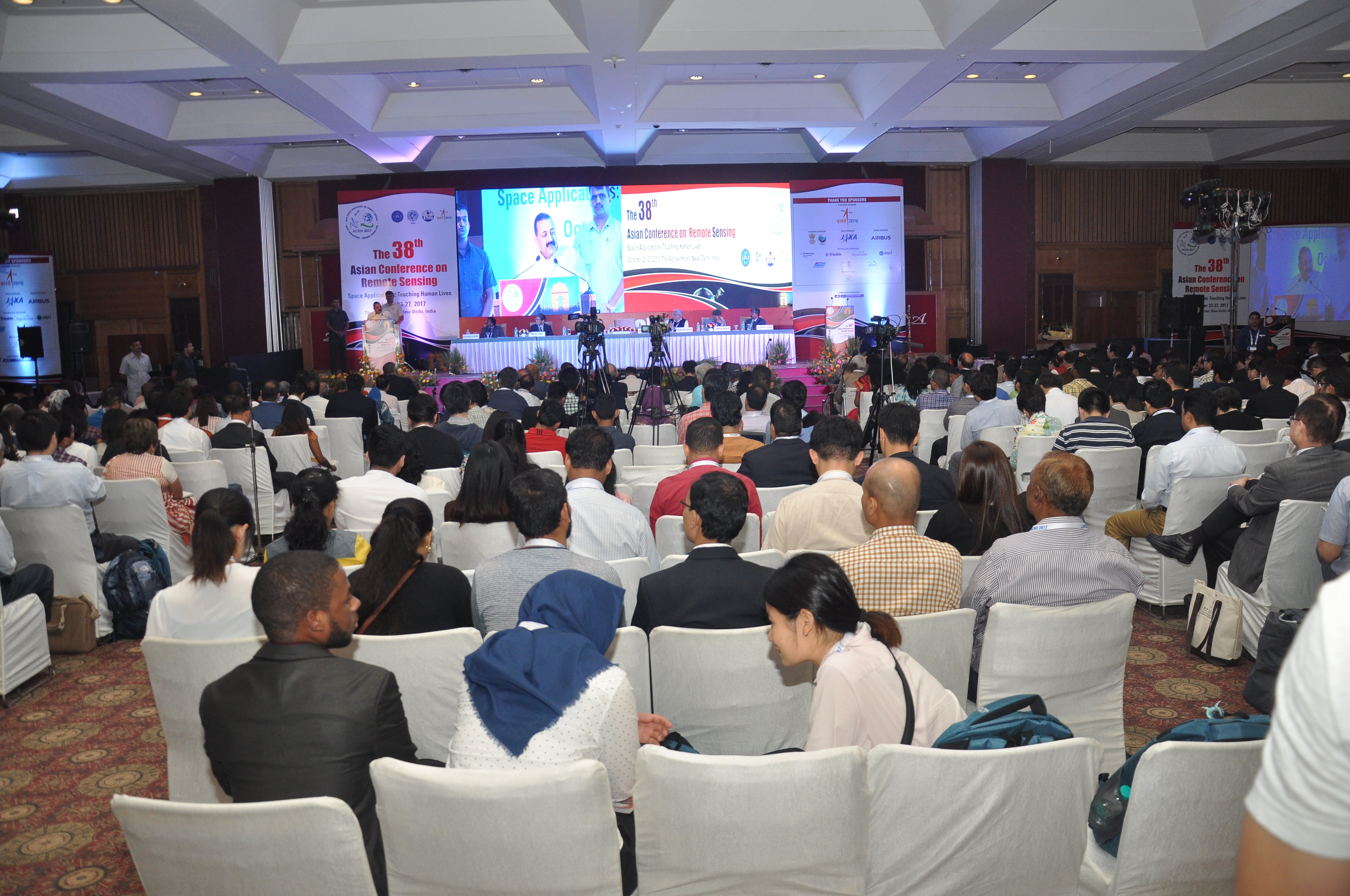 Dr. Jitendra Singh, the Hon'ble Minister of State PMO, addressing the gathering during the inaugural session