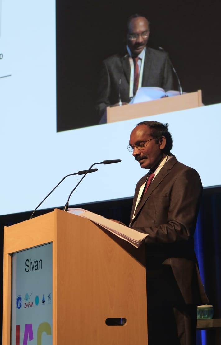 Dr. K Sivan at Bremen, Germany