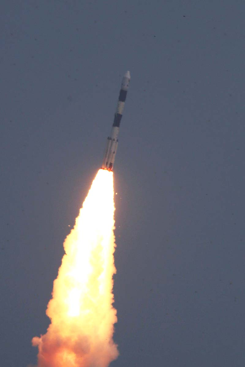PSLV-C30 Lift off view