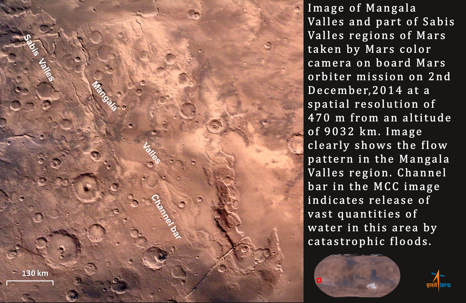pictures from mars colour camera mcc onboard indiau0027s mars orbiter spacecraft