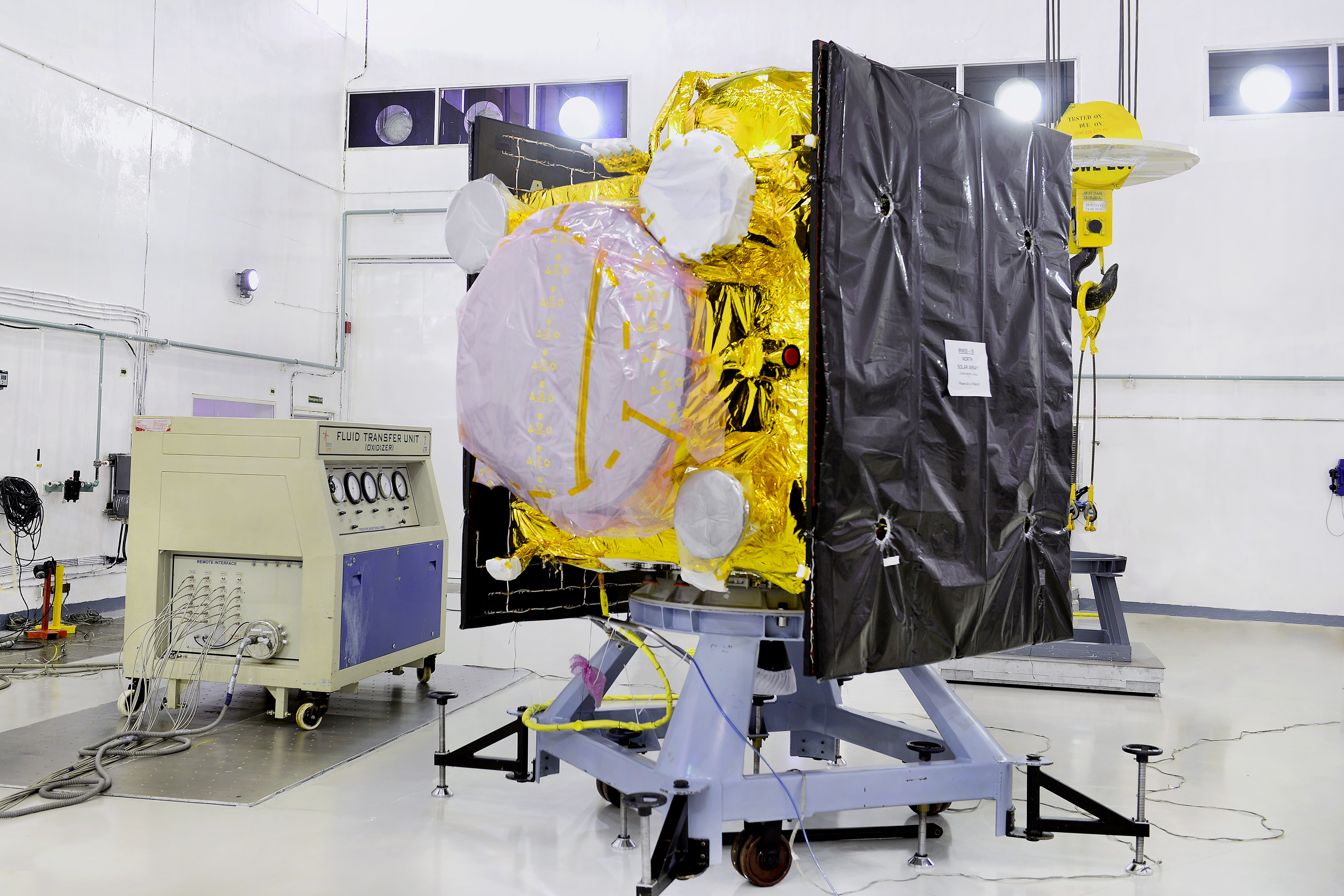India Ready To Launch Its Fifth IRNSS Navigation Satellite