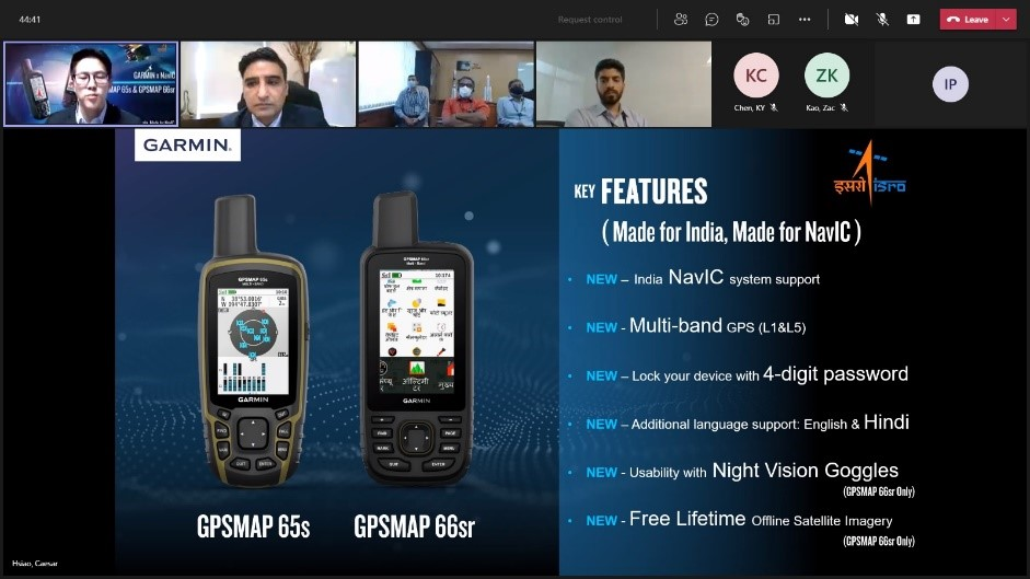 Garmin launches NavIC enabled Standalone Handheld Devices