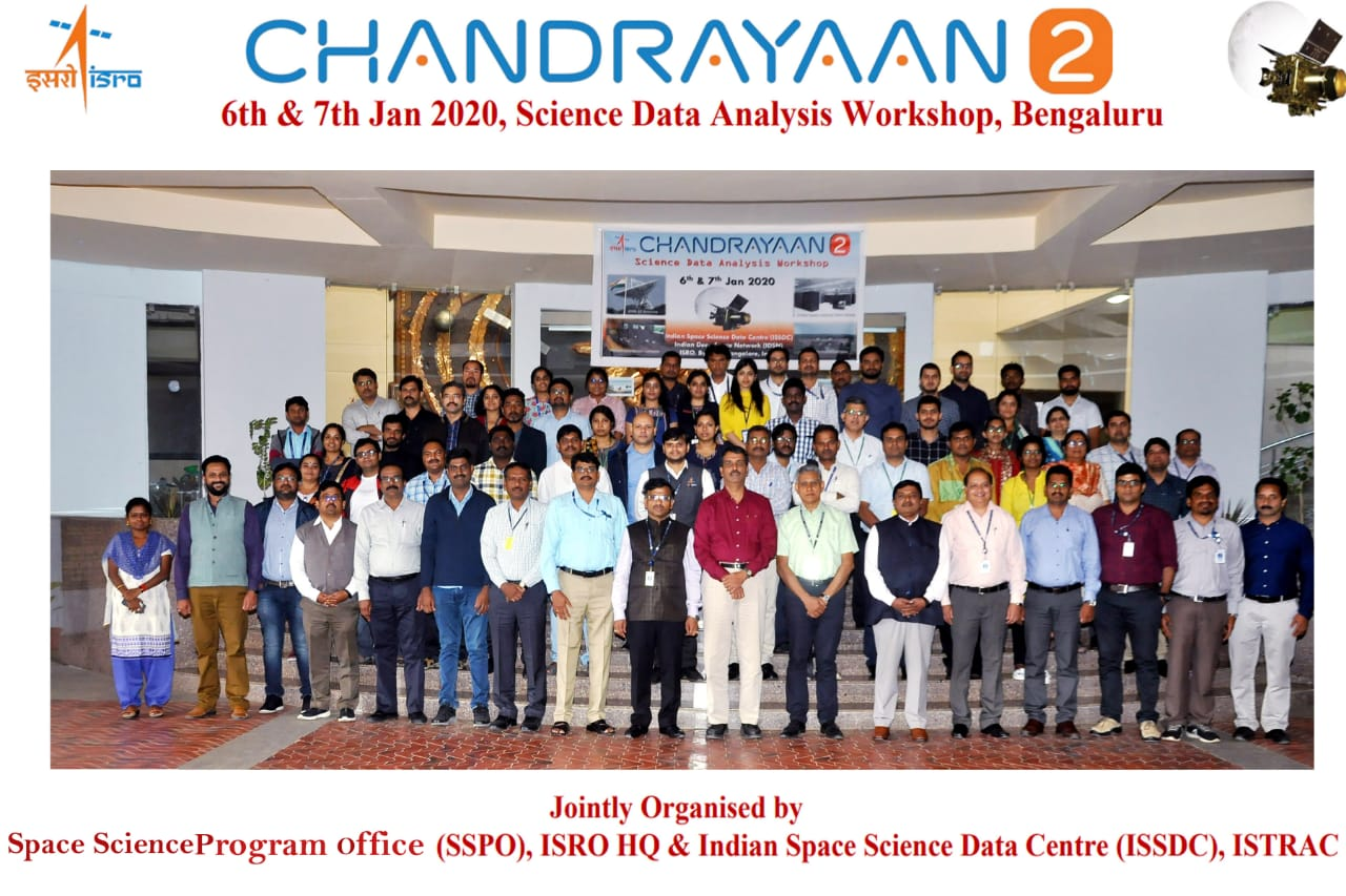Fourth Lunar Science Meet and Chandrayaan-2 Data Analysis Workshop held at ISSDC, Bengaluru