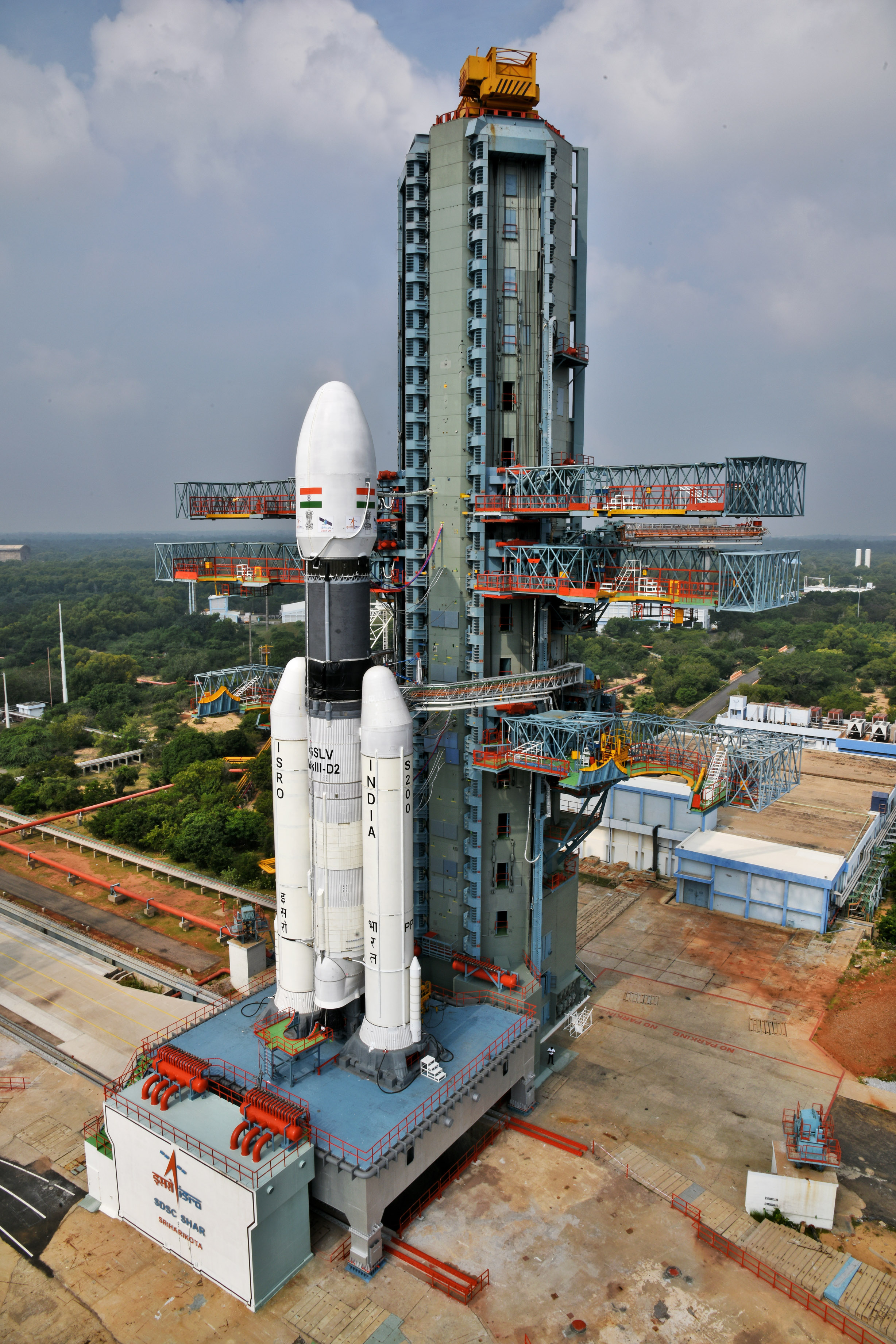 856b537dc7760 The countdown for the launch of GSLV Mk III-D2 / GSAT-29 Mission from  Satish Dhawan Space Centre SHAR, Sriharikota started today at 14:50 Hrs IST.