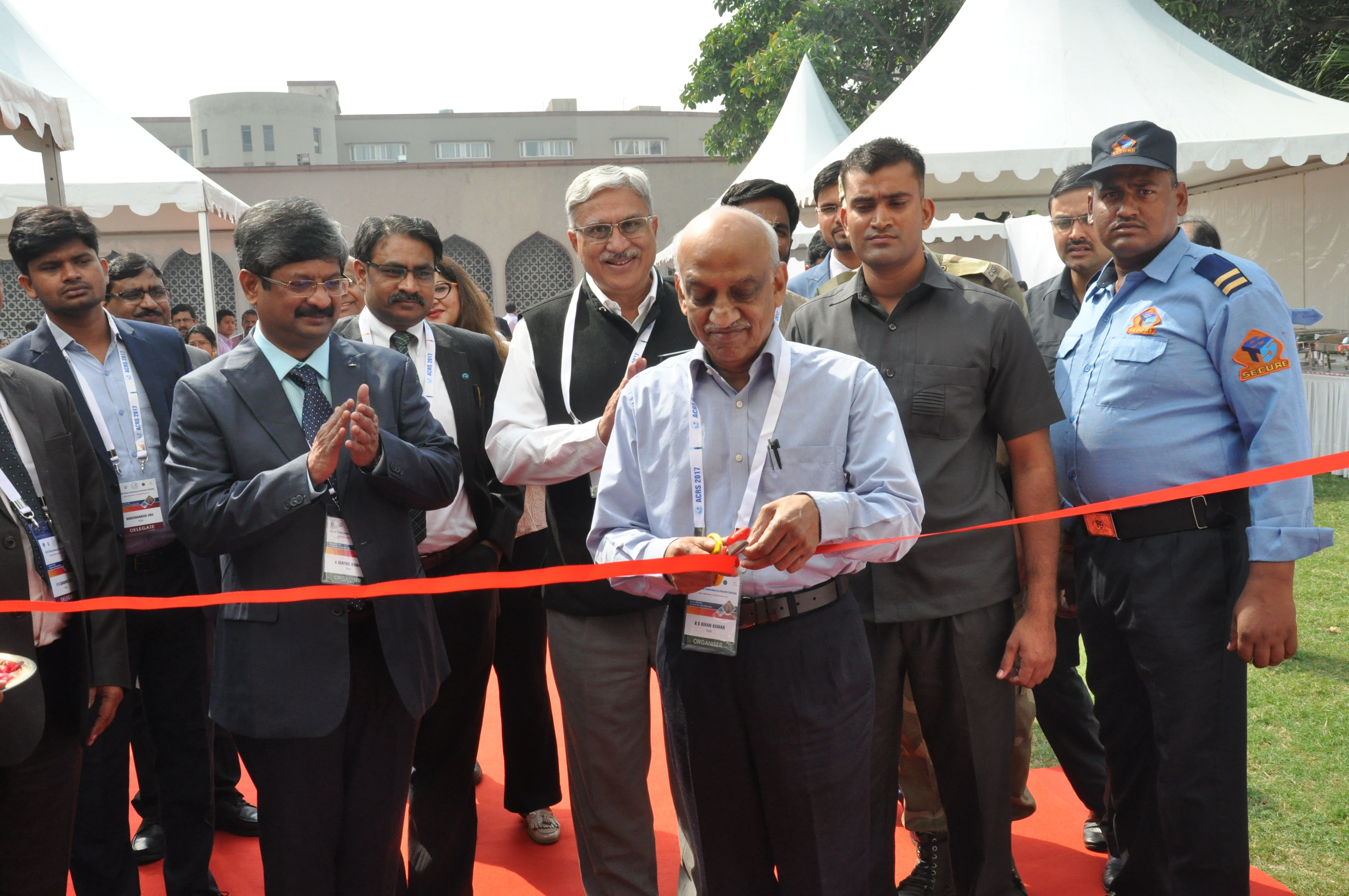 Inauguration of technical exhibition by Sri A S Kiran Kumar, Chairman ISRO