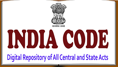 India Code (Digital Repository of all Central and State Acts)