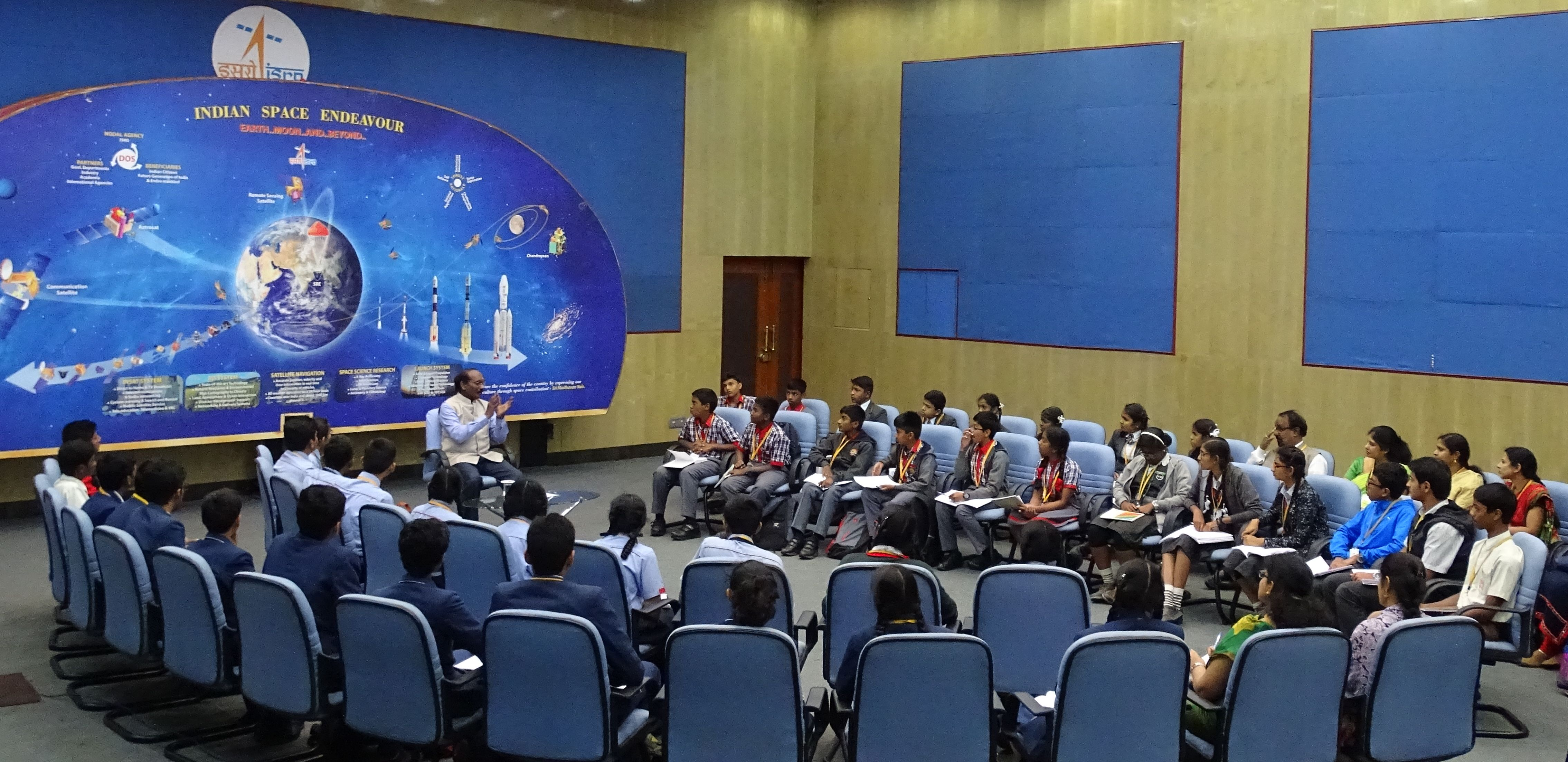 ISRO launches Samwad with Students on New Year Day