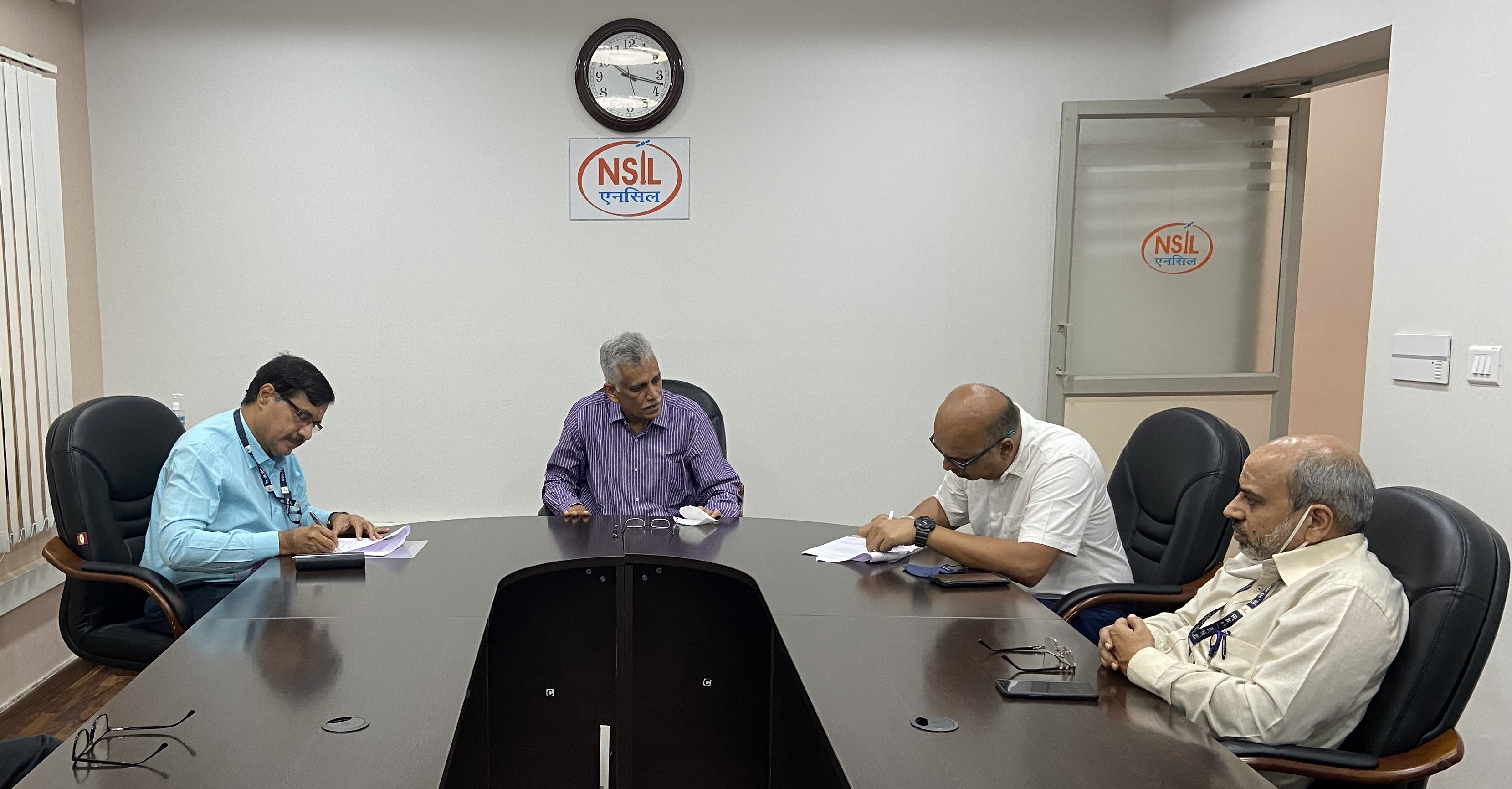 A Memorandum of Understanding (MoU) was signed between Department Of Space (DOS) and NewSpace India Limited (NSIL) on October 12, 2020. This MoU will enable NSIL to transfer technologies to the industry.