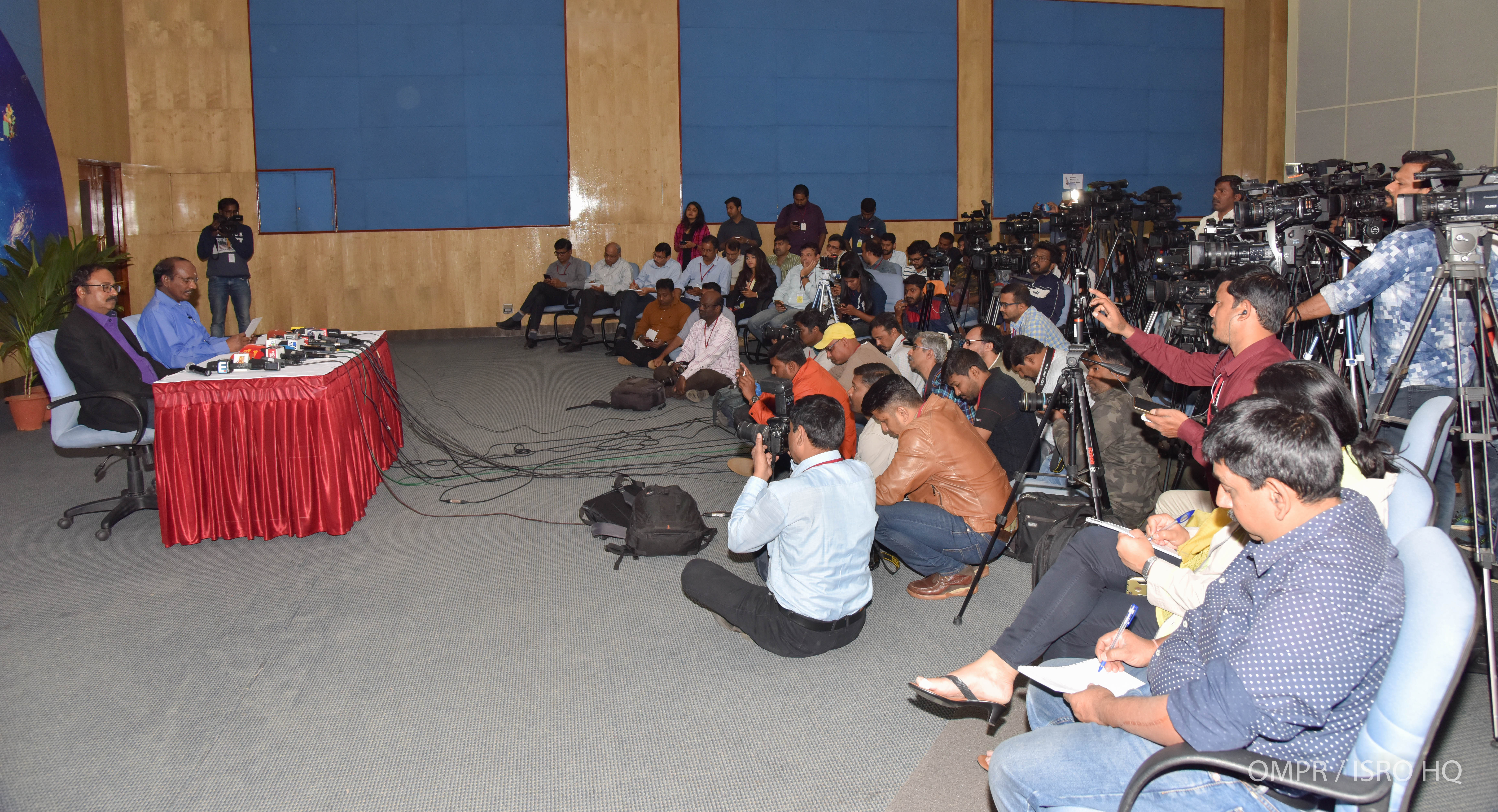 Press meet - Briefing by Chairman ISRO