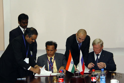India and Russia Sign an Agreement on Chandrayaan-2