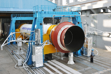 Solid Propellant Booster Rocket Stage S200 for GSLV Mk III