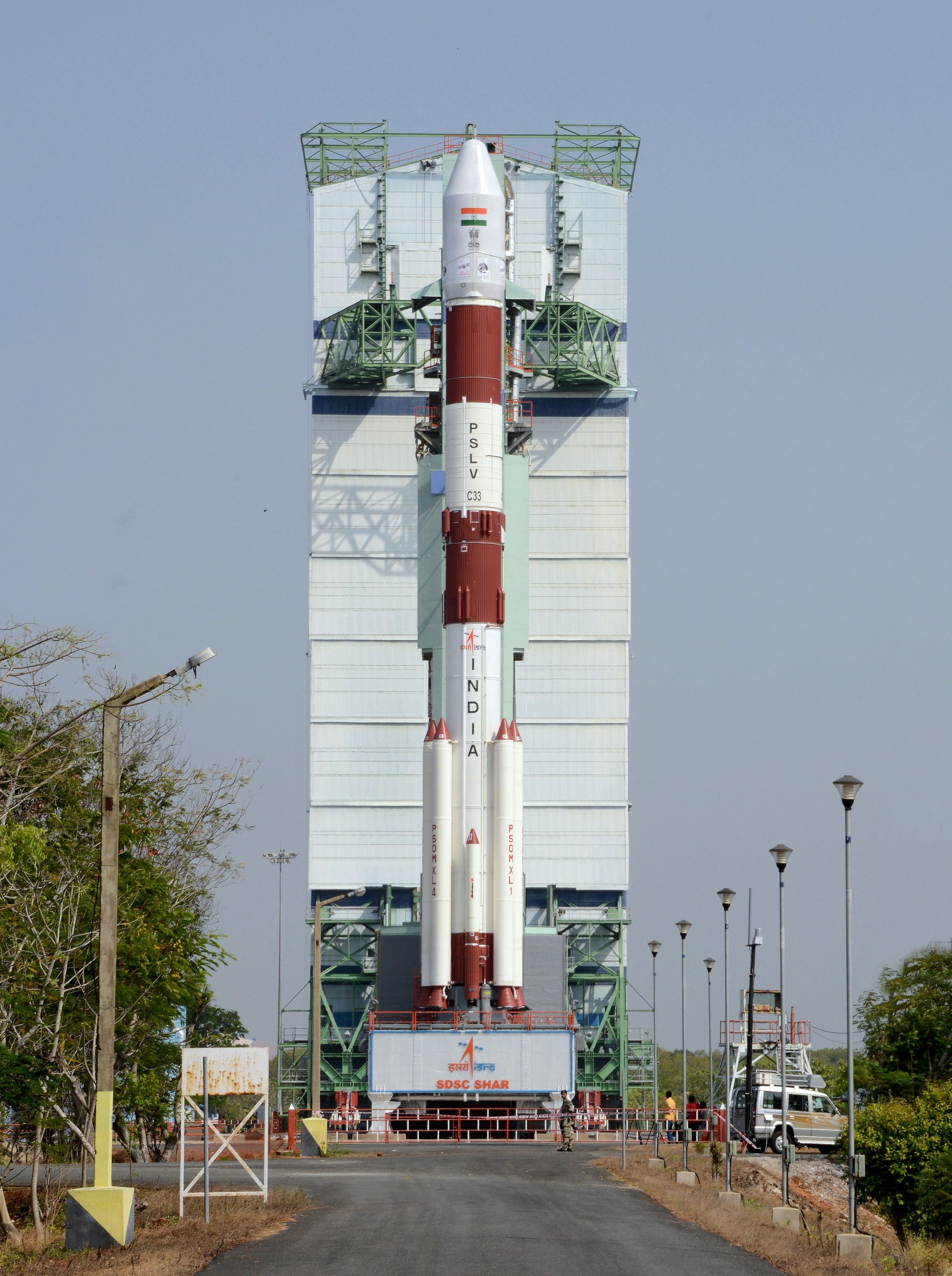 PSLV-C33 Launcher