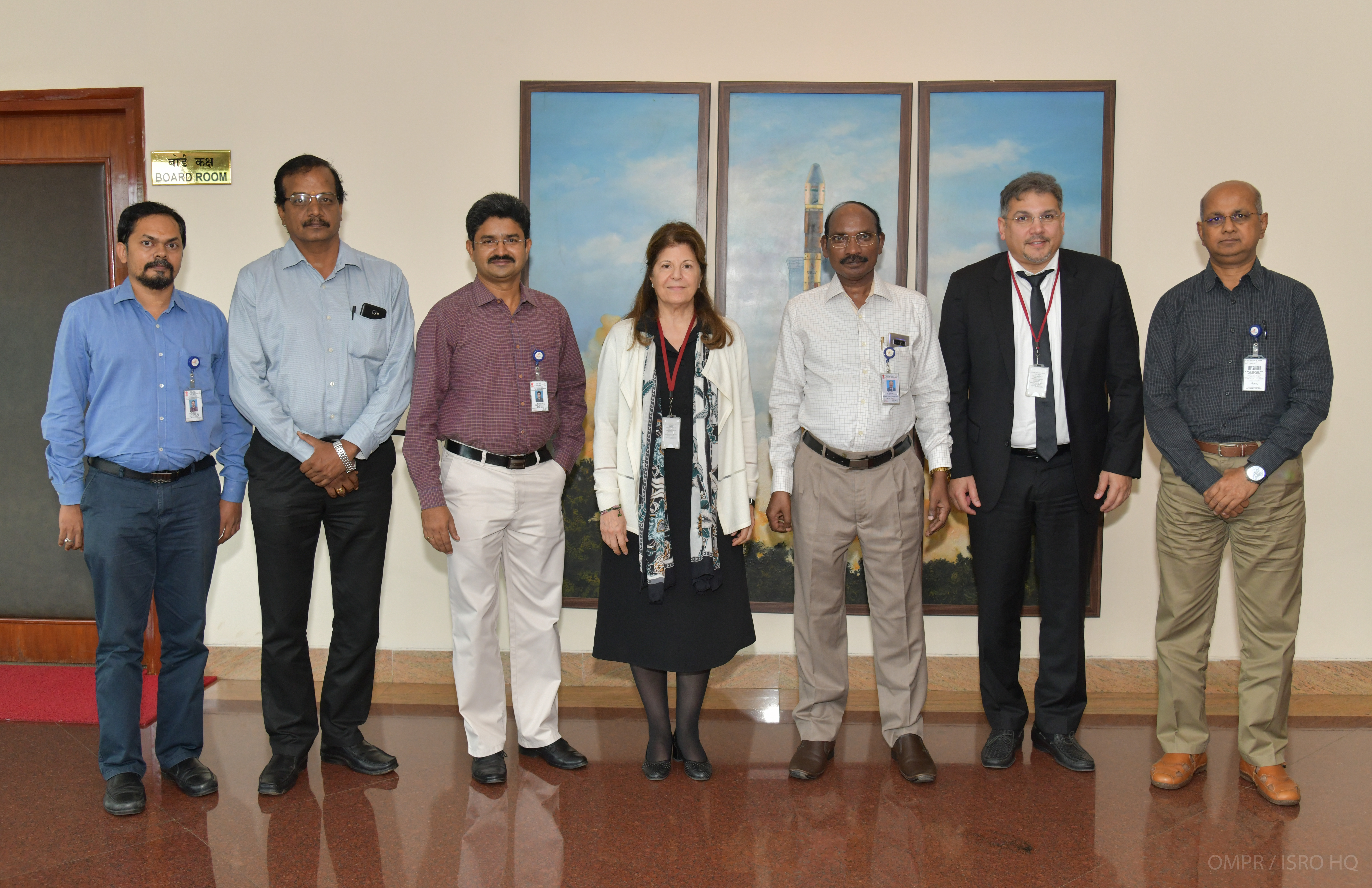 Director General Kuwait Institute for Scientific Research visited ISRO
