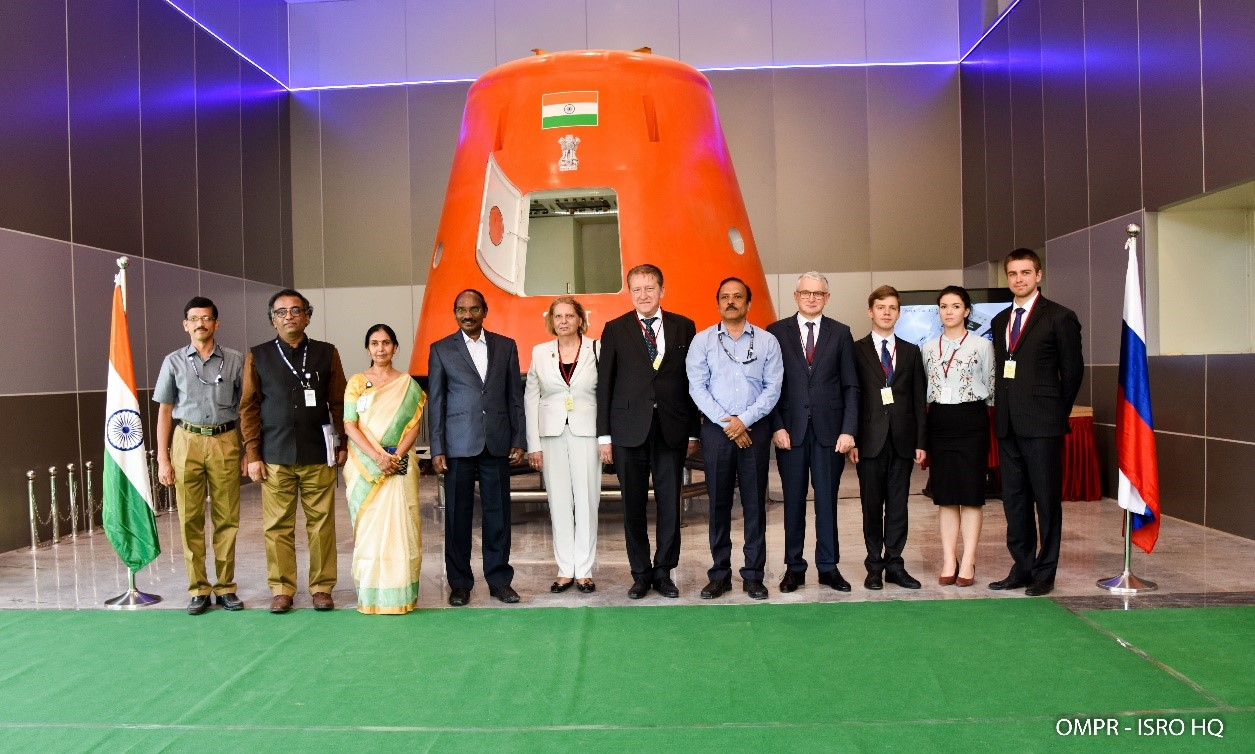 Russian Ambassador to India  visited ISRO HQ & HSFC