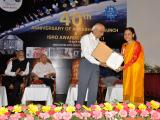 Photos: 40th anniversary of Aryabhata launch and ISRO Awards function