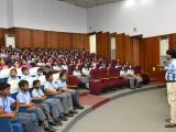 NRSC Scientists interacting with students and answering their queries