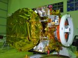 GSAT-19 Spacecraft undergoing Test at ISITE Bengaluru