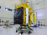 FUELING OF ASTROSAT IN SATELLITE PREPARATION FACILITY AT SATISH DHAWAN SPACE CENTRE SHAR