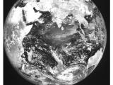 First Image from INSAT-3DR - SWIR Band