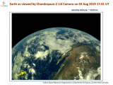 First set of beautiful images of the Earth captured by Chandrayaan-2 Vikram Lander