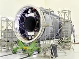 Indigenous Cryogenic Upper Stage of GSLV-F09 at Stage Preparation Facility