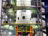 GSLV-F09 Liquid Stage at Stage Processing Facility