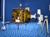 GSAT-14 undergoing Electro Magnetic Interference & Electro Magnetic Compatibility Test