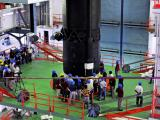 Indigenous Cryogenic Upper Stage is being integrated with GSLV-D5 Second Stage