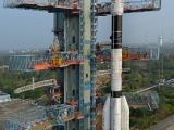 GSLV-D5 at the Second Launch Pad (Umbilical Tower)