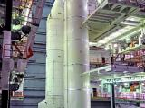 One of the Strap-on Motors of GSLV-D5 being integrated with the GSLV-D5 Core Stage