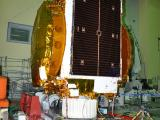 GSAT-17 Undergoing Vibration Test