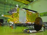 GSAT-11 in a clean room
