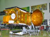 GSAT-15 in clean room at ISITE, ISAC.