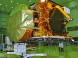 GSAT-16 in clean room undergoing pre-launch tests